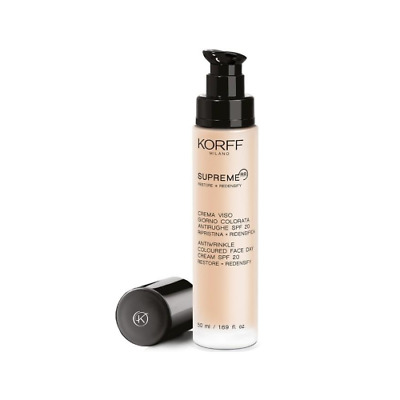 Korff Supreme RR Crema Viso Giorno Colorata 50 ml