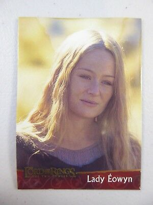 TOPPS Lord of the Rings: The Two Towers - Card #9 LADY EOWYN