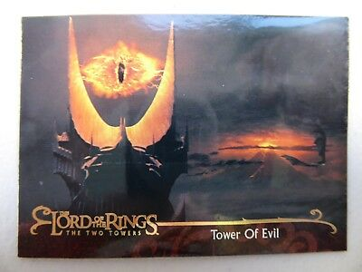TOPPS Lord of the Rings: The Two Towers - Card #101 TOWER OF EVIL