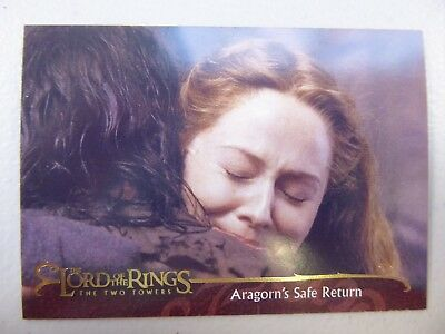 TOPPS Lord of the Rings: The Two Towers - Card #59 ARAGORN'S SAFE RETURN