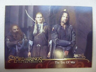 TOPPS Lord of the Rings: The Two Towers - Card #60 THE EVE OF WAR
