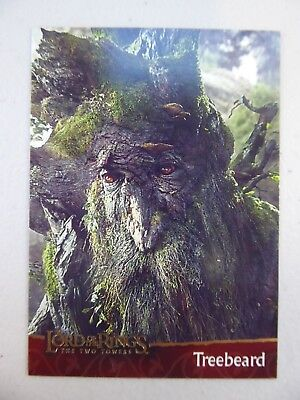 TOPPS Lord of the Rings: The Two Towers - Card #12 TREEBEARD