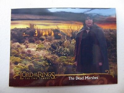 TOPPS Lord of the Rings: The Two Towers - Card #29 THE DEAD MARSHES
