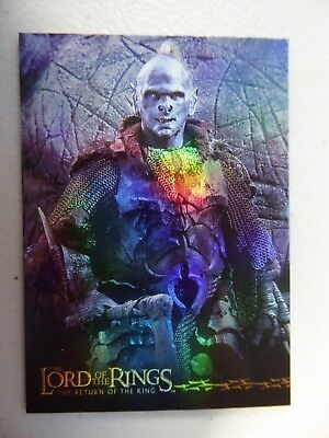 TOPPS: LOTR The Return Of The King #7 Prismatic Foil Card