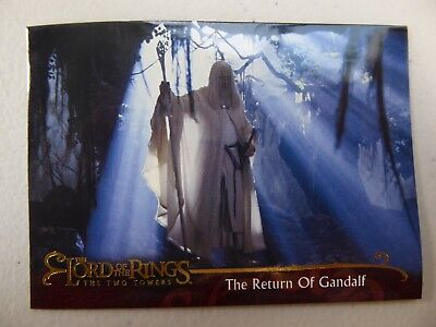 TOPPS Lord of the Rings: The Two Towers - Card #27 THE RETURN OF GANDALF