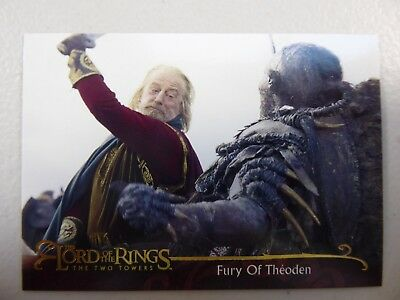TOPPS Lord of the Rings: The Two Towers - Card #52 FURY OF THEODEN
