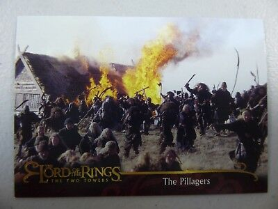TOPPS Lord of the Rings: The Two Towers - Card #41 THE PILLAGERS