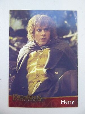 TOPPS Lord of the Rings: The Two Towers - Card #14 MERRY