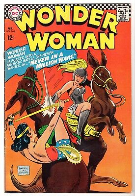 Wonder Woman #168, Very Fine Condition'