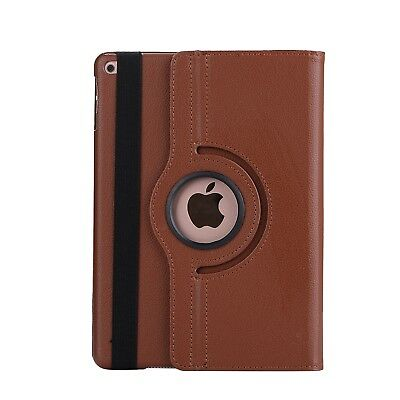 Apple iPad 5 | 6 Generation Air 1+2 9.7 360° Cover Case Tablet Hülle braun