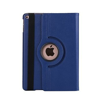 Apple iPad 5 | 6 Generation Air 1+2 9.7 360° Cover Case Tablet Hülle dunkelblau