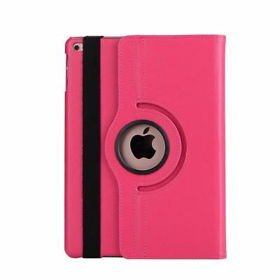 Apple iPad 5 | 6 Generation Air 1+2 9.7 360° Cover Case Tablet Hülle pink