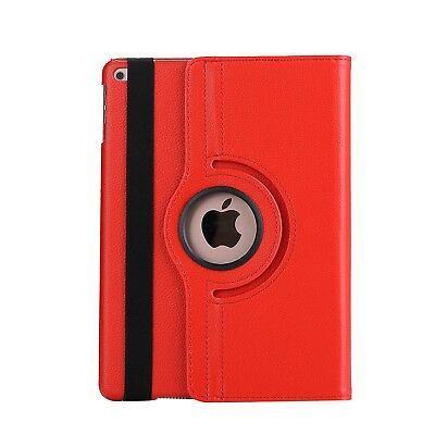 Apple iPad 5 | 6 Generation Air 1+2 9.7 360° Cover Case Tablet Hülle rot