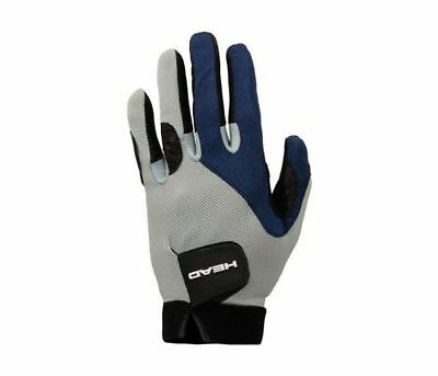 New HEAD Renegade Racquetball Right Hand Glove Size Medium Gray/Black/Blue