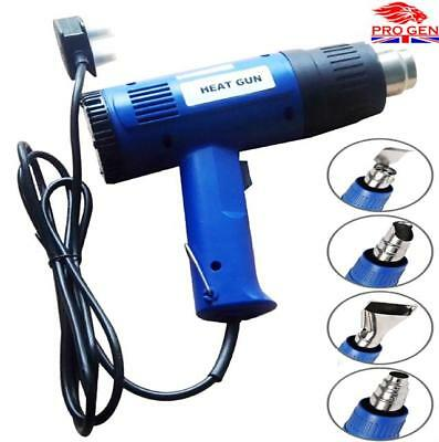Top Quality 1500w Hot Air Heat Gun With 4 Nozzles Paint Stripping Paint Varnish