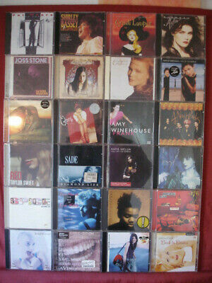 POP ROCK DIVA CD Collection 28 Items