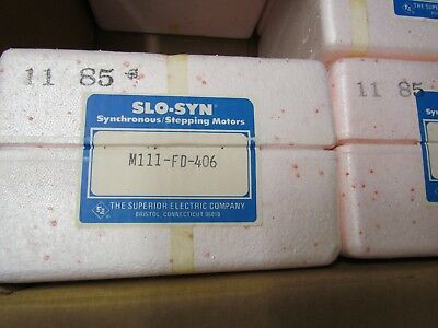 NEW Old Stock Superior Electric M111-FD-406 Slo-Syn Synchronous Stepping Motor