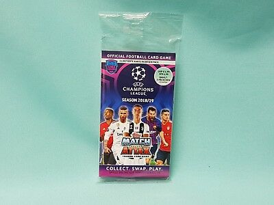 Topps Match Attax Champions League 2018/2019  Blister + Limitied Edition 18/19
