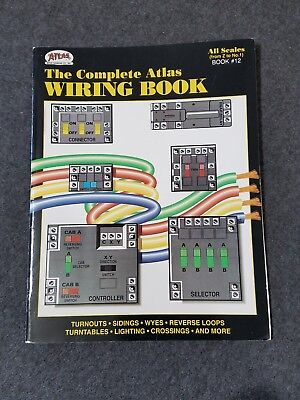 atlas model railroad co inc the complete atlas wiring book book rh picclick com complete atlas wiring book