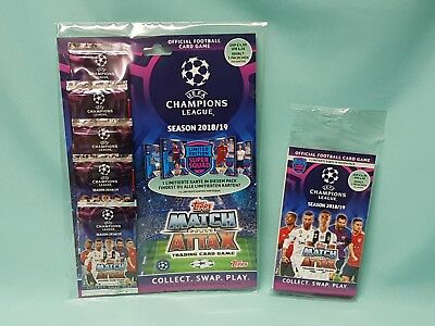 Topps Match Attax Champions League 2018/2019 Blister +  Multipack 18/19