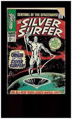 The Silver Surfer #1 (Aug 1968, Marvel)