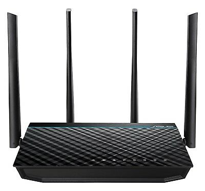 -NEW- ASUS Wireless-AC1700 Dual Band Gigabit Router (Up to 1700 Mbps) USB 3.0