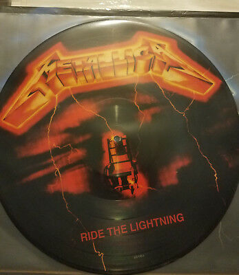 Metallica**red** Ride The Lightning**pic / Picture Disc Vinyl Lp**megadeth