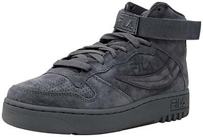 FILA FX 100 Kids Gray Suede High Top Lace Up Sneakers Shoes