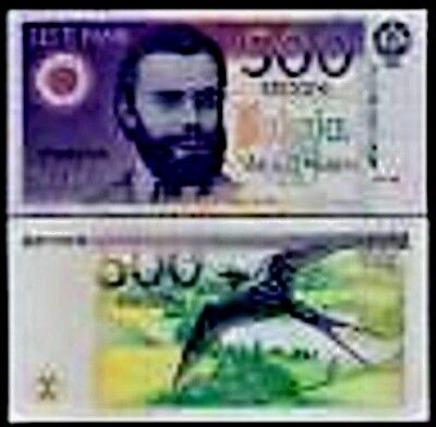 Estonia 500 Krooni P80 1994 Barn Swallow Euro Unc Rare Currency Money Bill Note