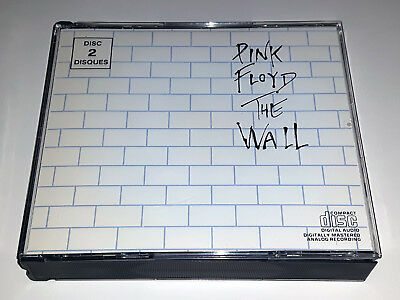 Pink Floyd : The Wall (CANADA 1988 1st Pressing - Black Disc) RARE!!