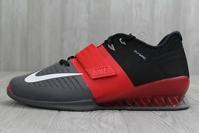0d390965ded49 33 Nike Romaleos 3 Weightlifting Shoes Men's 11.5- 15 Red/Black/Grey 852933