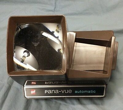 Vintage Gaf Pana-Vue Automatic .. Has Corroded Contacts