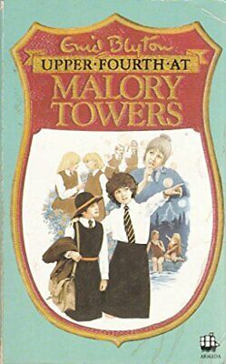 Upper Fourth at Malory Towers by Blyton, Enid Paperback Book The Cheap Fast Free
