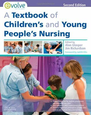 A Textbook of Children's and Young People's... by Glasper PhD  BA  RSC Paperback