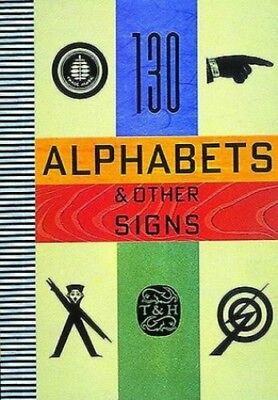 130 Alphabets and Other Signs Paperback Book The Cheap Fast Free Post
