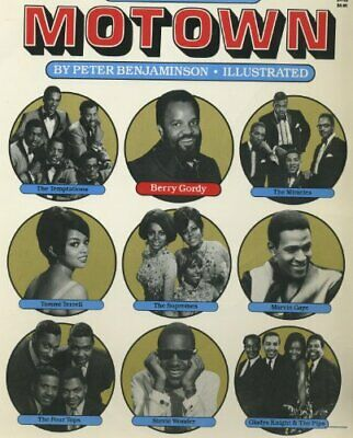 The story of Motown (Evergreen books) by Benjaminson, Peter Book The Cheap Fast