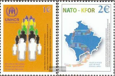 kosovo (UN-Administration) 18-19 (complete.issue.) fine used / cancelled 2004 NA