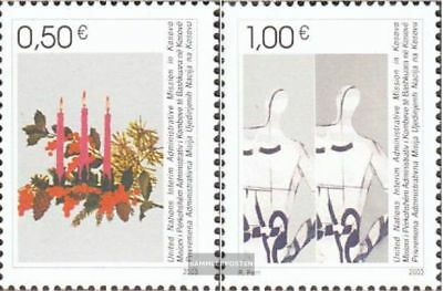 kosovo (UN-Administration) 16-17 (complete.issue.) fine used / cancelled 2003 ch
