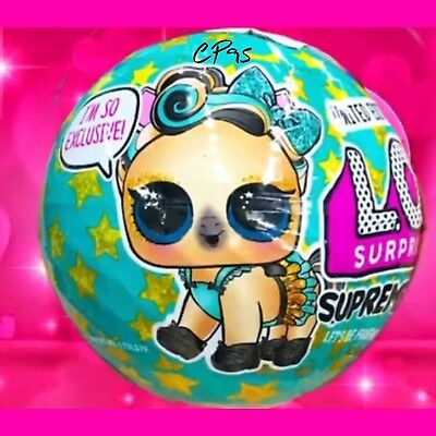 LOL Surprise SUPREME PET Bling Series Ball LIMITED EDITION LUXE PONY PREORDER