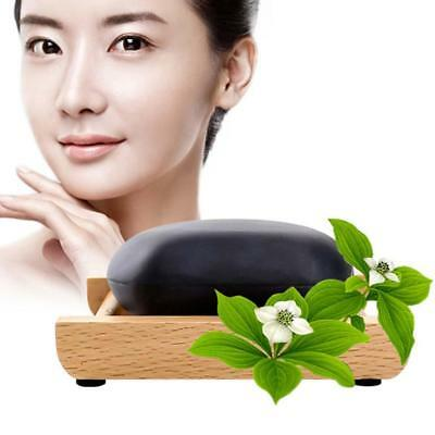 Bamboo Charcoal Handmade Soap Skin Whitening Blackhead Remover Acne Treatment