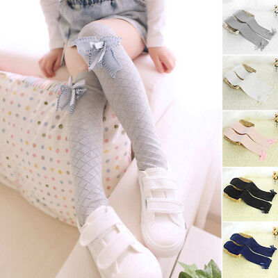 2019 Toddlers Baby Girl Knee High Socks Tights Leg Warmer Stockings For Age 3-12
