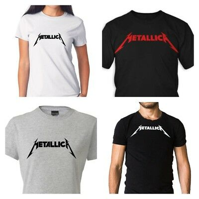 232472dc METALLICA T-SHIRT LOGO New Authentic Rock Metal Tee S-5XL - $12.95 ...