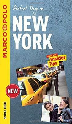 New York Marco Polo Travel Guide - with pull by Marco Polo New Spiral bound Book