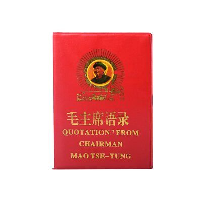 Mao's Little Red Book English-Chinese Quotations from Chariman Mao Tse-Tung