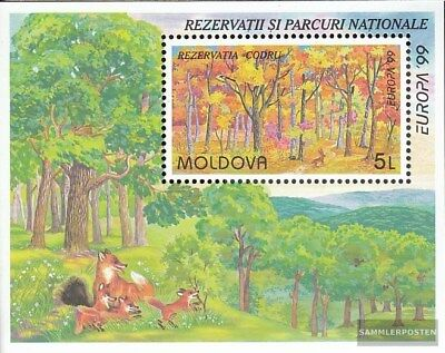 Moldawien block18 (complete.issue.) unmounted mint / never hinged 1999 National