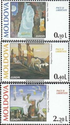 Moldawien 164-166 (complete.issue.) unmounted mint / never hinged 1995 Peace