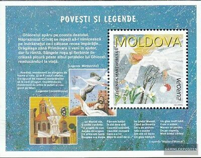 Moldawien block12 (complete.issue.) unmounted mint / never hinged 1997 Say