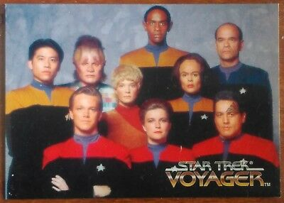 1995 Skybox Star Trek Voyager Season 1 Rare Non Sports Update Promo Card N1