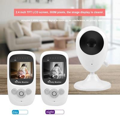 Wireless 2.4G Digital Color TFT LCD Baby Monitor Night Vision Audio Video Camera