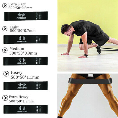 Resistance Bands Mini Loops Set for Men Exercise Gym Fitness Yoga Glute Leg Band